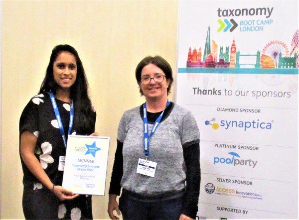Taxonomy Award Winner Mano Prabhakaran