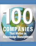 2016 KMWorld 100 Companies That Matter in Knowledge Management