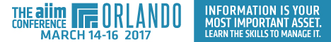 AIIM Conference Orlando, FL March 14-16, 2017