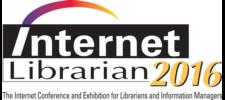 Internet Librarian 2016