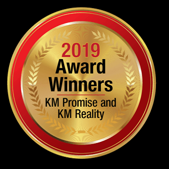 KM 2019 promise and reality awards logo