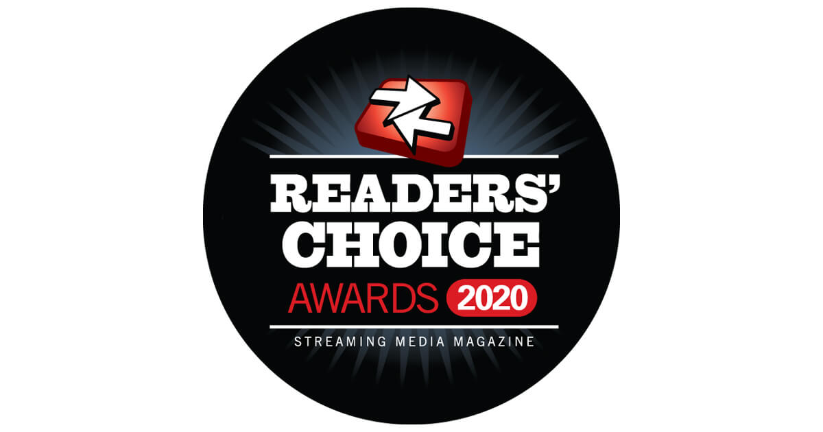 Nominate Now for the 2020 Streaming Media Readers' Choice Awards