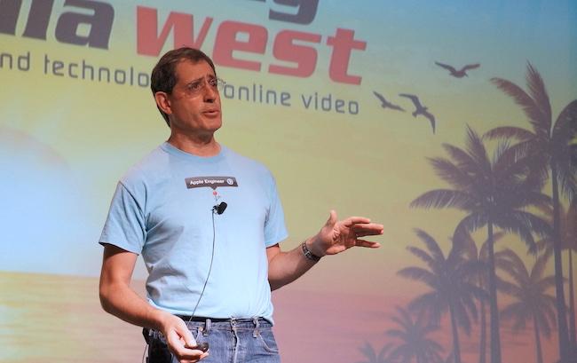 Apple Roger Pantos at Streaming Media West
