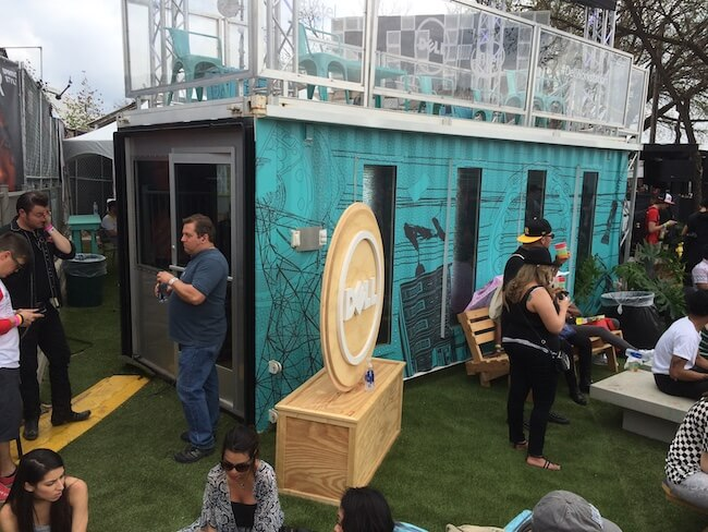 Fader Fort SXSW X1 shipping container