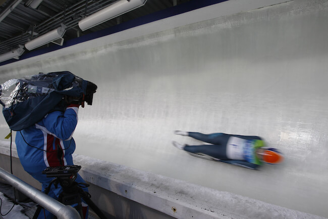 2010 Vancouver Olympic luge