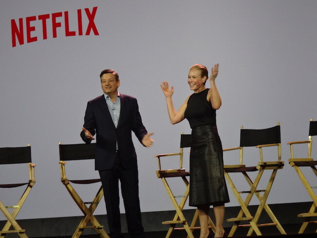 Netflix Ted Sarandos and Chelsea Handler