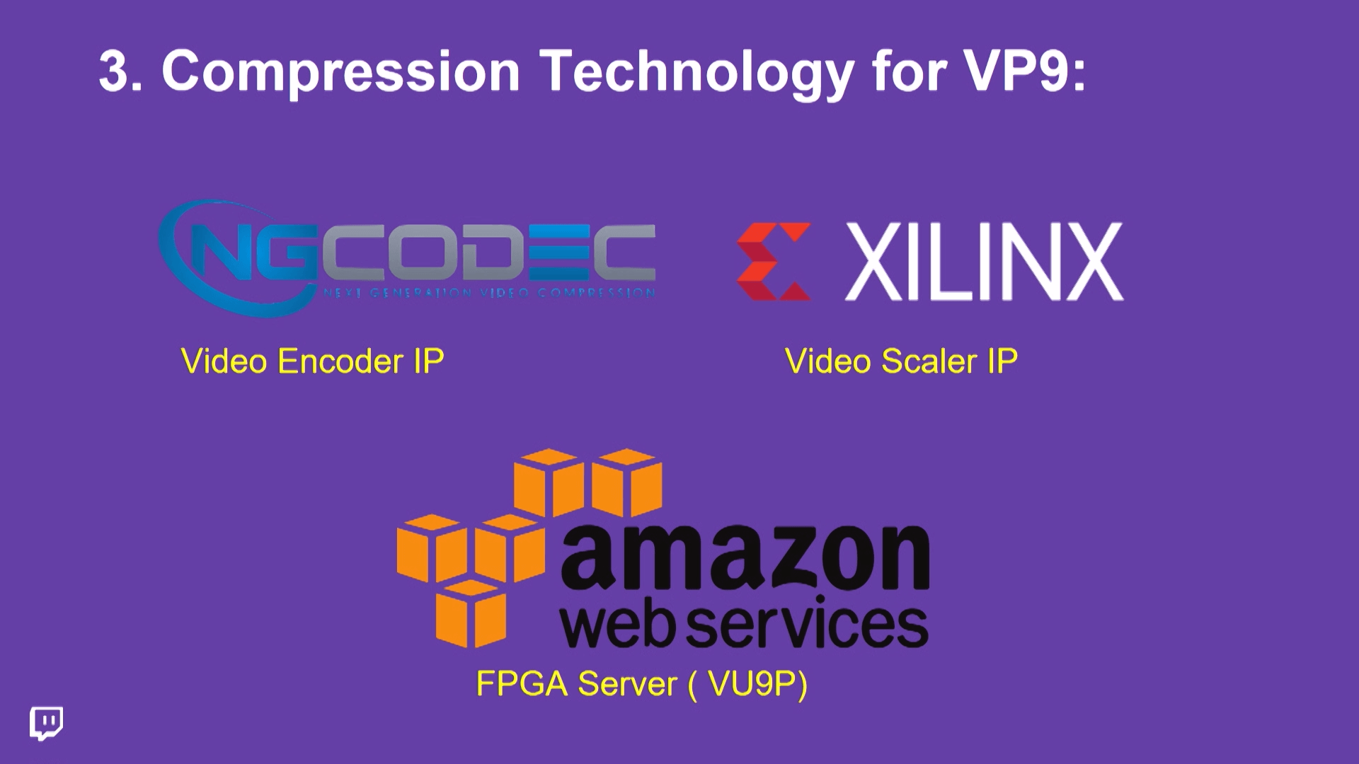 AWS, NGCodec, Xilinx, and VP9