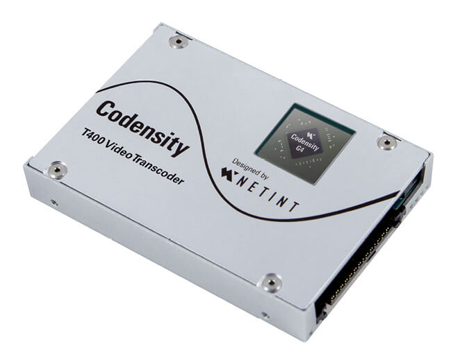 NETINT Codensity T400 Video Transcoder