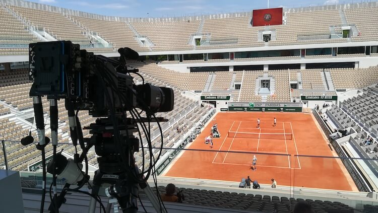 Orange and France Televisions French Open