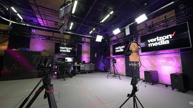 Verizon Media 5G RYOT Studio