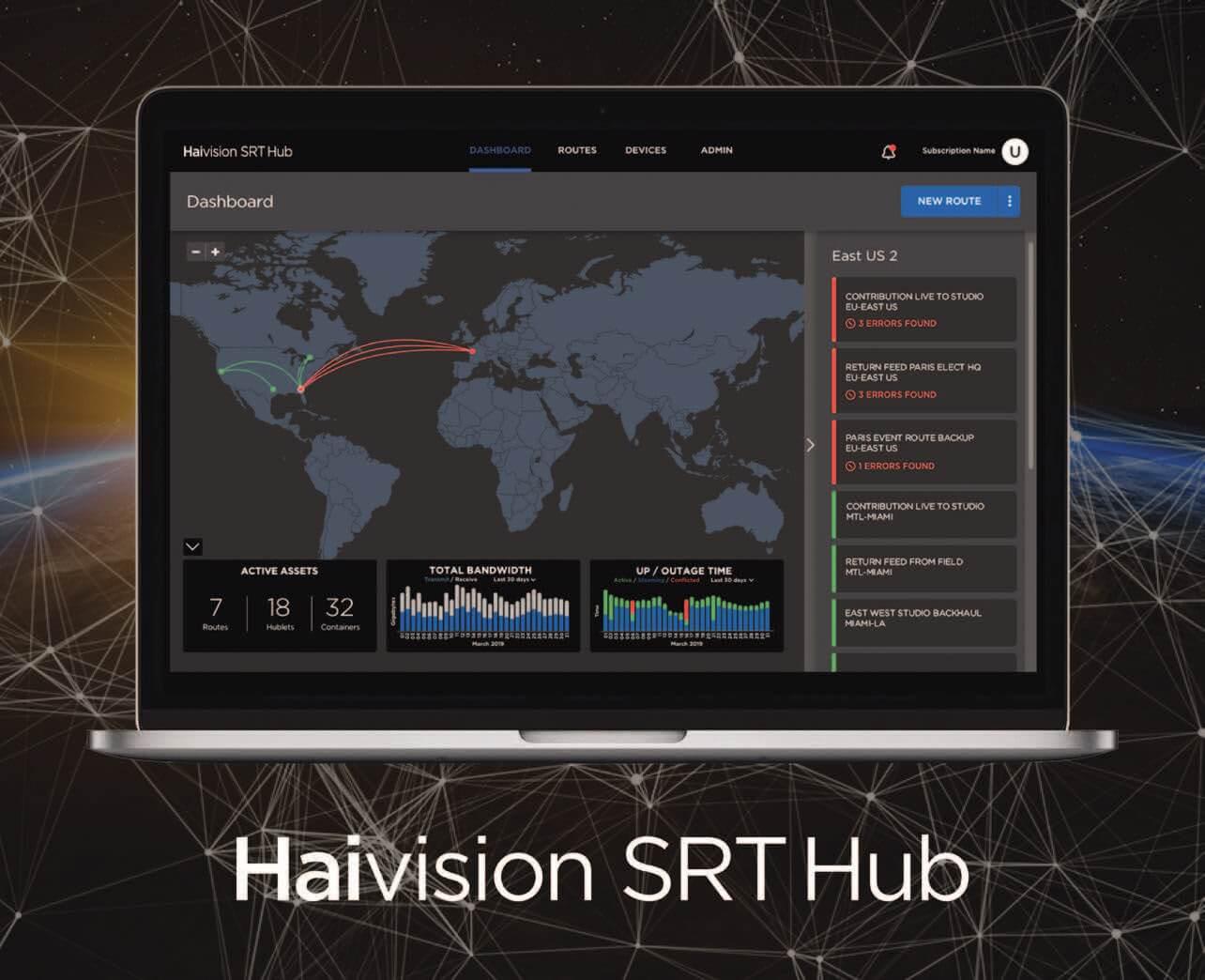 Haivision SRT Hub