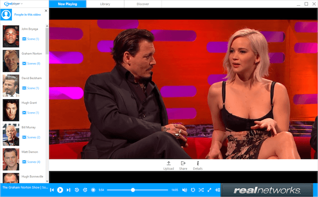 RealNetworks 20/20 SAFR Graham Norton