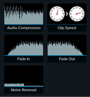 Camtasia audio compression