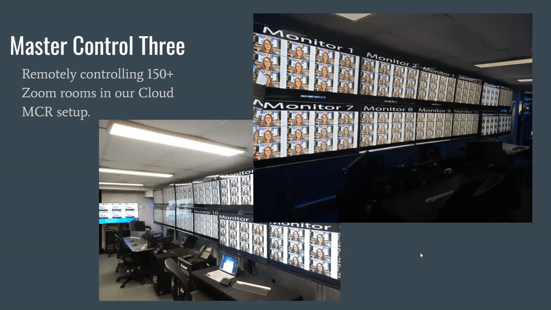 LiveSports Master Control Three