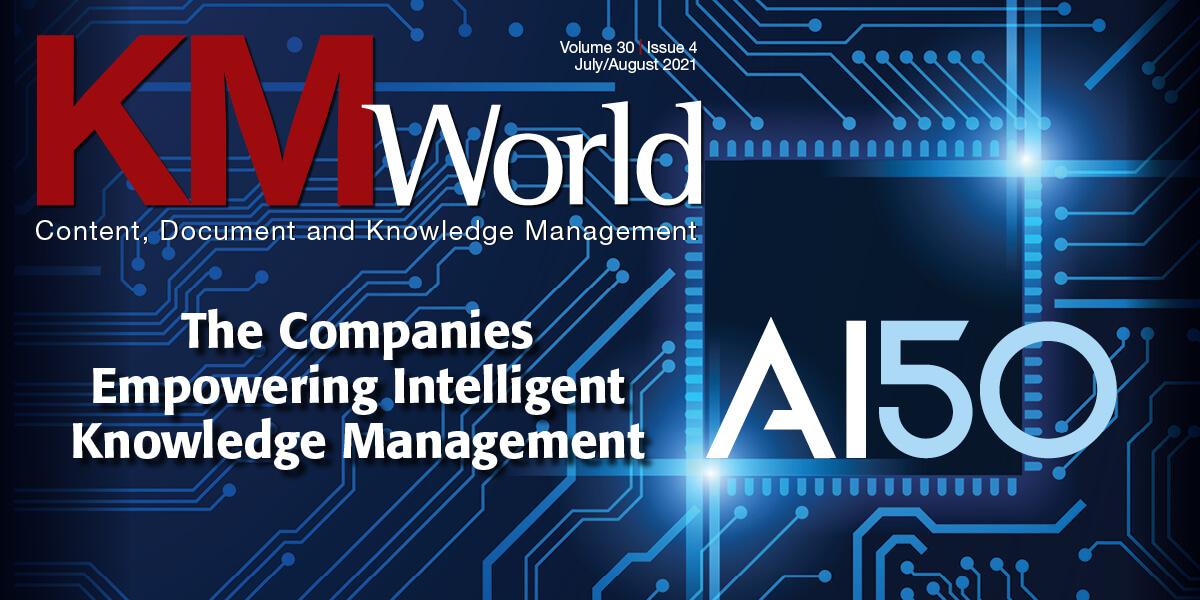 KMWorld Cover