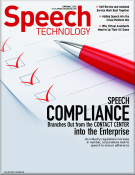 Speech Technology Magazine Cover