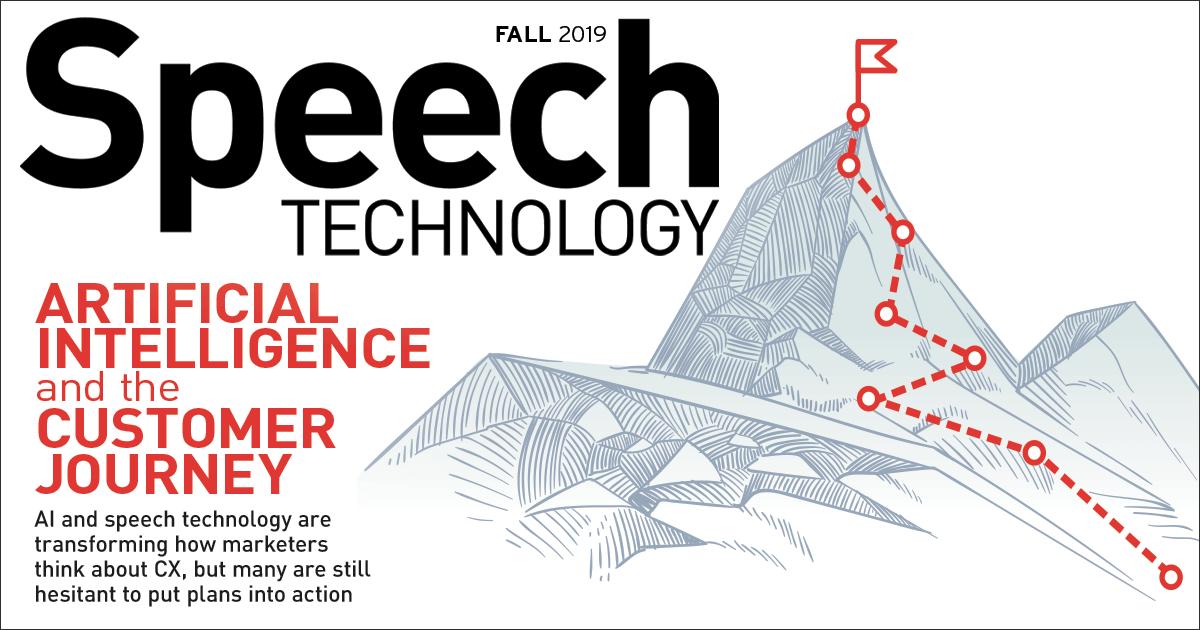 Speech Technology Magazine Cover