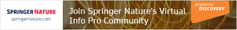 Join Springer Nature's Virtual Info Pro Community
