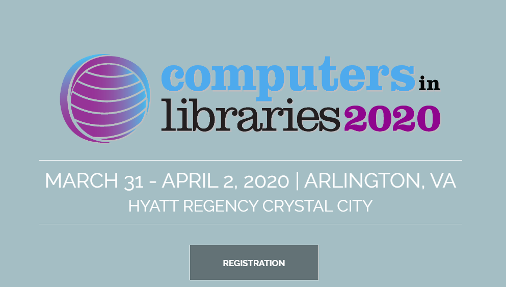 Save the Date for CIL 2020, March 31 to April 2