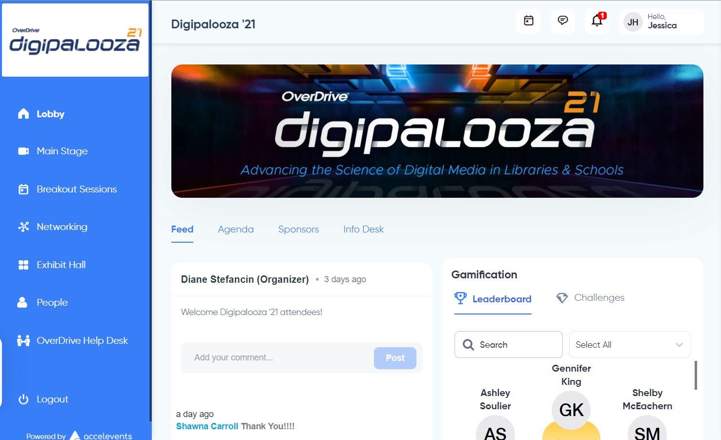 Digipalooza homepage
