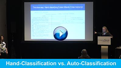 Hand-Classification vs. Auto-Classification video clip