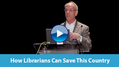 How Librarians Can Save This Country