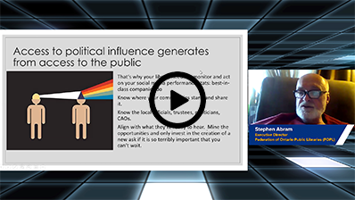 How Public Libraries Can Access Political Influence video clip
