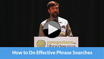 How to Do Effective Phrase Searches