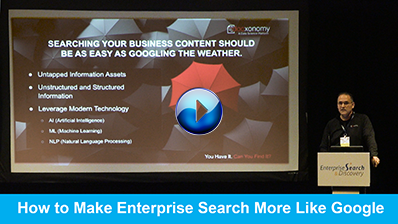 How to Make Enterprise Search More Like Google