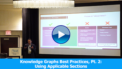 Knowledge Graphs Best Practices, Part 2: Using Applicable Sections video clip
