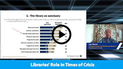 Libraries' Role in Times of Crisis video clip
