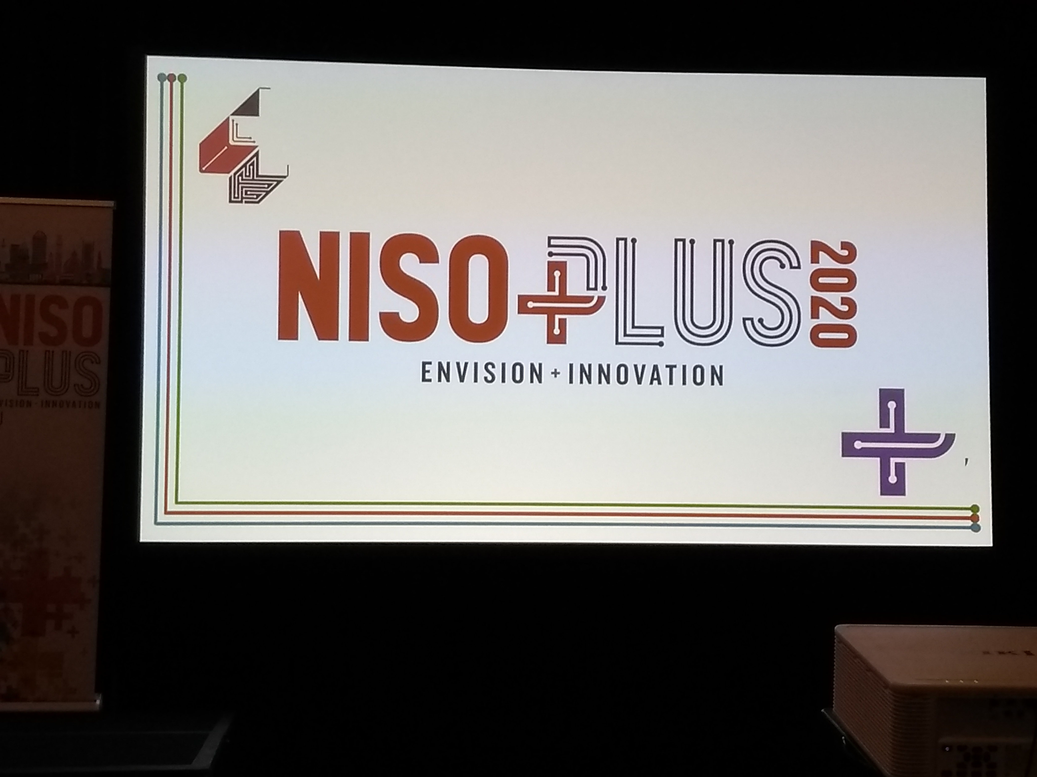 Logo for NISO Plus Conference