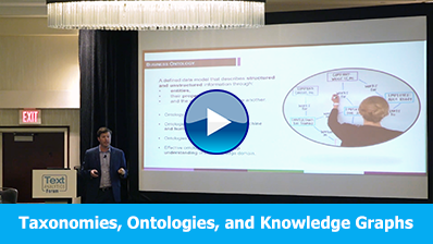Taxonomies, Ontologies, and Knowledge Graphs video clip, click here