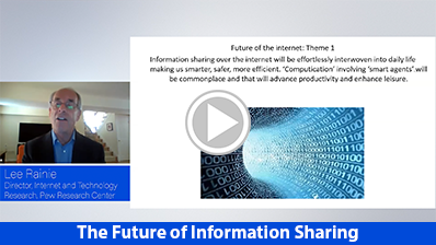 The Future of Information Sharing video clip
